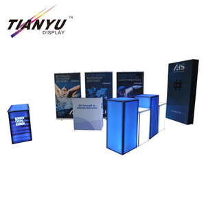 Pameran Aluminium Promosi Counter, Table Tampilan Kontra