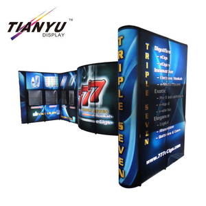 Aluminium Pop up Banner Berdiri