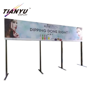 Iklan tekstil Led light box Fabric Aluminium