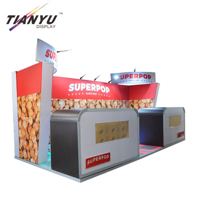 Ringan Exhibition Booth 3X3 Hot Jual 10X20 Trade Show Booth